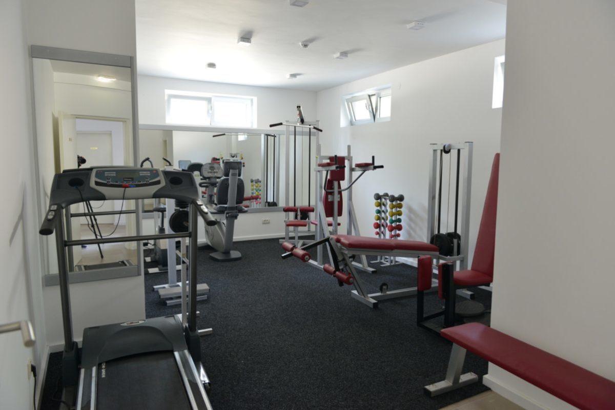 gratis toegang tot klein fitness ruimte